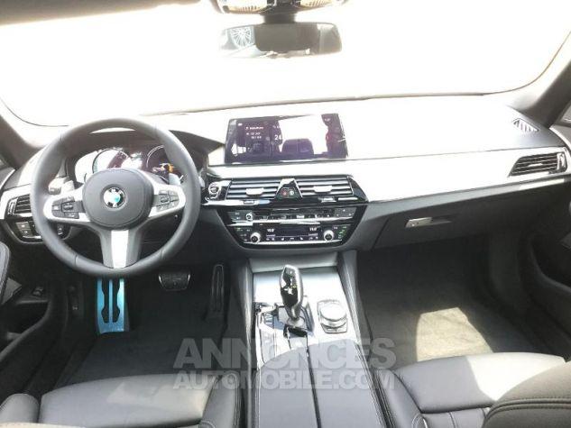 BMW Série 5 520dA 190ch M Sport Steptronic Carbonschwarz 3 Métal Occasion - 3