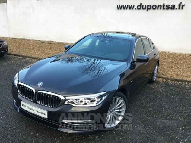 BMW Série 5 520dA xDrive 190ch Luxury Sophistograu metallisee Occasion - 0
