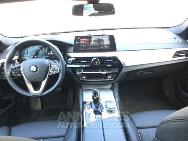 BMW Série 5 520dA xDrive 190ch Luxury Sophistograu metallisee Occasion - 3