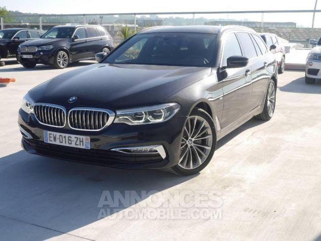 BMW Série 5 520dA xDrive 190ch Luxury Saphirschwarz Occasion - 0