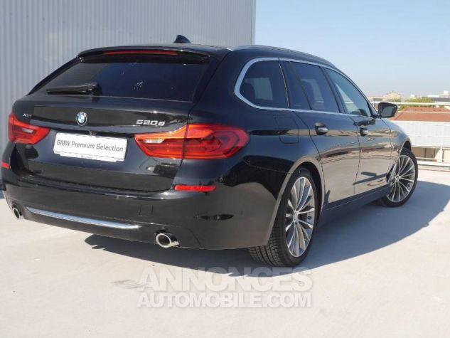 BMW Série 5 520dA xDrive 190ch Luxury Saphirschwarz Occasion - 1