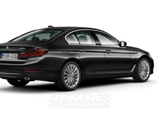 BMW Série 5 520dA xDrive 190ch Luxury Saphirschwarz metallise Occasion - 1