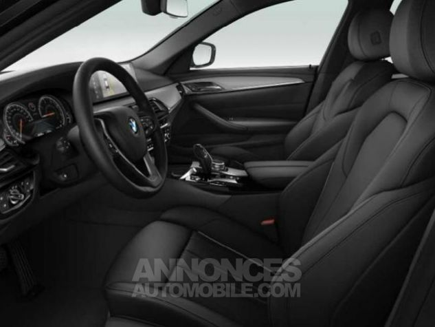 BMW Série 5 520dA xDrive 190ch Luxury Saphirschwarz metallise Occasion - 2