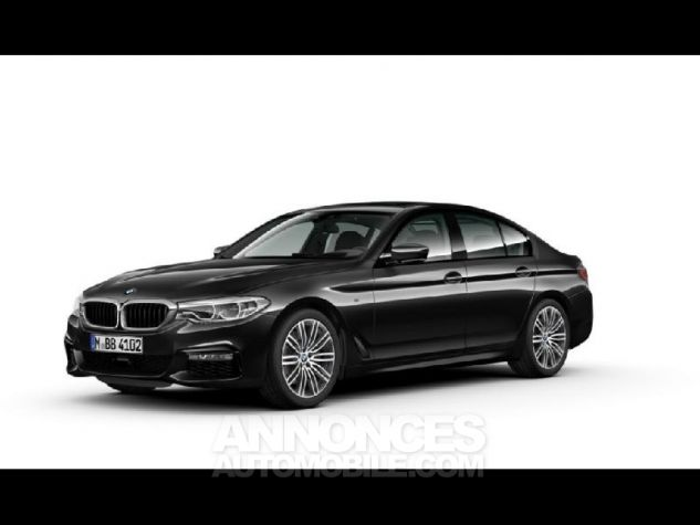 BMW Série 5 520dA xDrive 190ch M Sport Steptronic Saphirschwarz metallise Neuf - 1