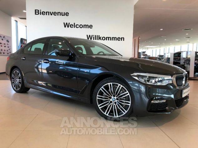 BMW Série 5 520dA xDrive 190ch M Sport Steptronic Sophistograu metallise Occasion - 0