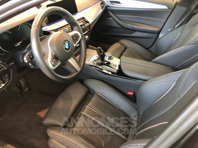 BMW Série 5 520dA xDrive 190ch M Sport Steptronic Sophistograu metallise Occasion - 2