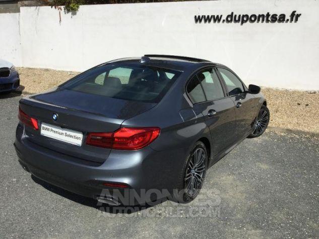 BMW Série 5 520dA xDrive 190ch M Sport Steptronic GRIS Occasion - 1