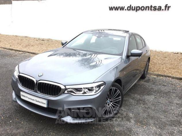 BMW Série 5 520dA xDrive 190ch M Sport Steptronic Bluestone Métallisée Occasion - 0