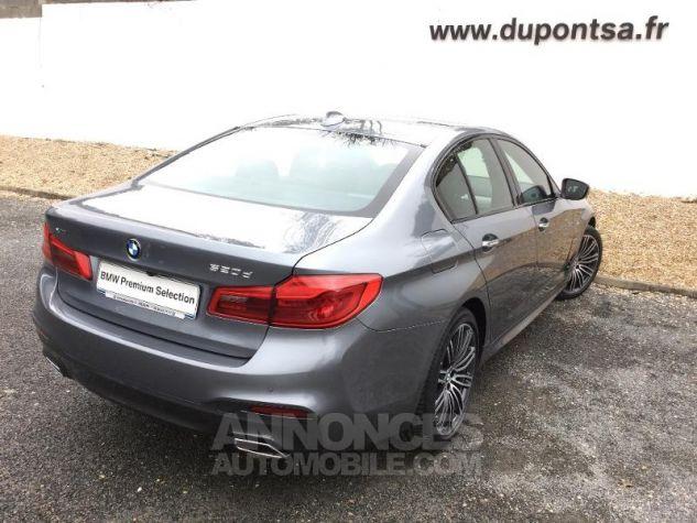 BMW Série 5 520dA xDrive 190ch M Sport Steptronic Bluestone Métallisée Occasion - 1