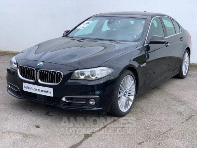BMW Série 5 525dA xDrive 218 Luxury Noir Occasion - 0