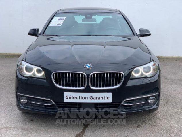 BMW Série 5 525dA xDrive 218 Luxury Noir Occasion - 1