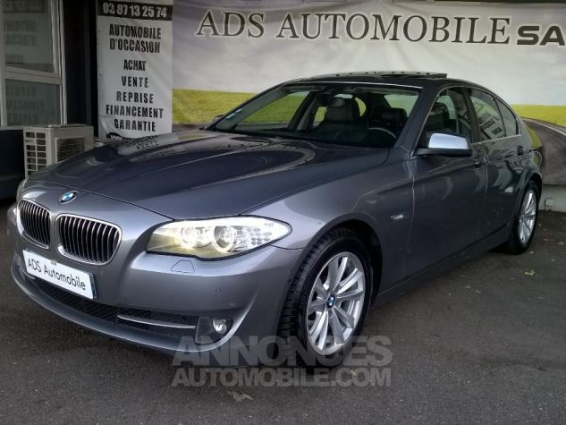 BMW Série 5 530D XDRIVE 258CH Luxe A Gris Occasion - 2