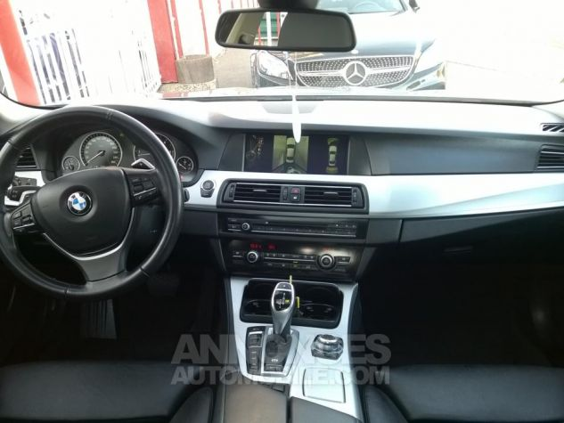 BMW Série 5 530D XDRIVE 258CH Luxe A Gris Occasion - 4