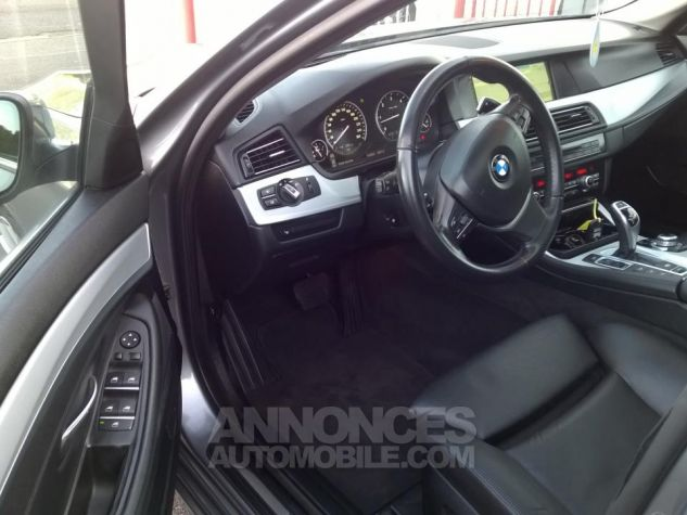 BMW Série 5 530D XDRIVE 258CH Luxe A Gris Occasion - 11
