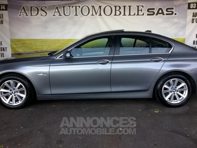 BMW Série 5 530D XDRIVE 258CH Luxe A Gris Occasion - 12
