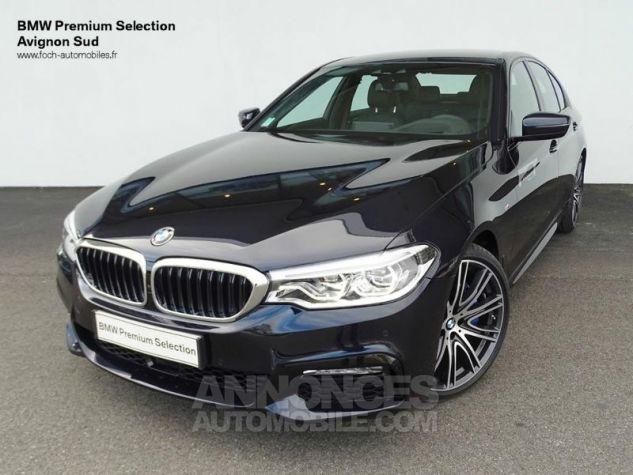BMW Série 5 530dA xDrive 265ch M Sport Carbonschwarz  metallise Occasion - 0