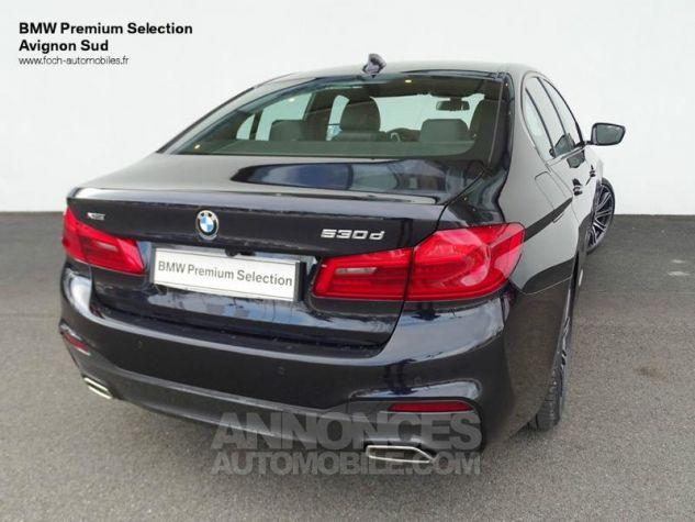 BMW Série 5 530dA xDrive 265ch M Sport Carbonschwarz  metallise Occasion - 1
