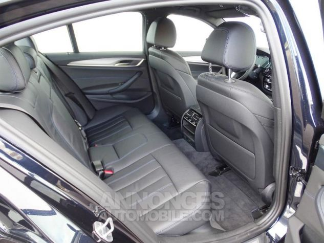 BMW Série 5 530dA xDrive 265ch M Sport Carbonschwarz  metallise Occasion - 4