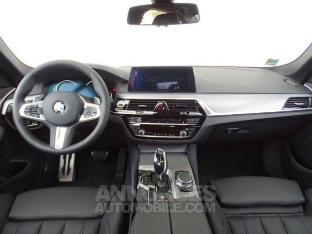 BMW Série 5 530dA xDrive 265ch M Sport Carbonschwarz  metallise Occasion - 8
