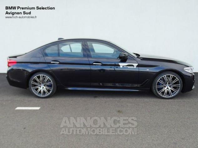 BMW Série 5 530dA xDrive 265ch M Sport Carbonschwarz  metallise Occasion - 9