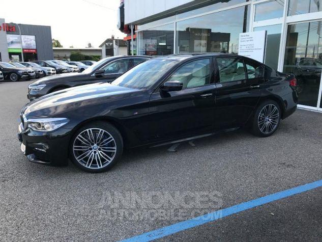 BMW Série 5 530dA xDrive 265ch M Sport Steptronic Saphirschwarz metallise Occasion - 4