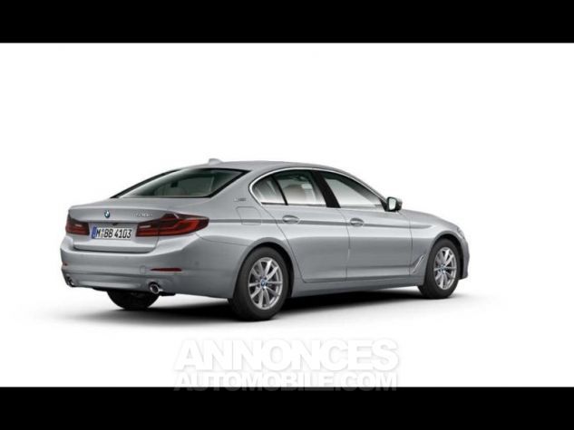 BMW Série 5 530eA iPerformance 252ch Luxury Glaciersilber  metallise Occasion - 0