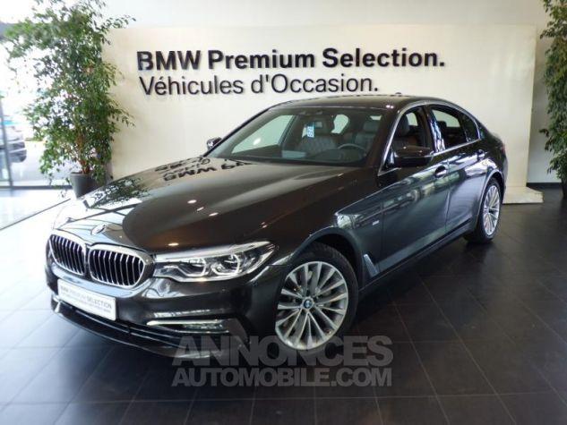 BMW Série 5 530iA 252ch Luxury MARRON Occasion - 0