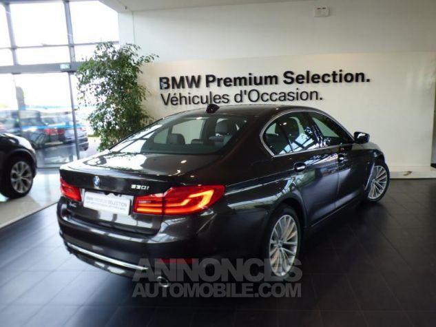 BMW Série 5 530iA 252ch Luxury MARRON Occasion - 1