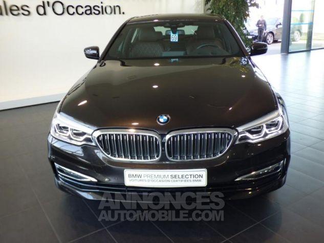 BMW Série 5 530iA 252ch Luxury MARRON Occasion - 4