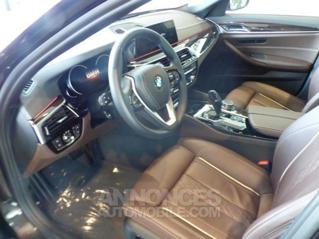 BMW Série 5 530iA 252ch Luxury MARRON Occasion - 7