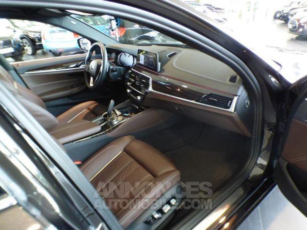 BMW Série 5 530iA 252ch Luxury MARRON Occasion - 8