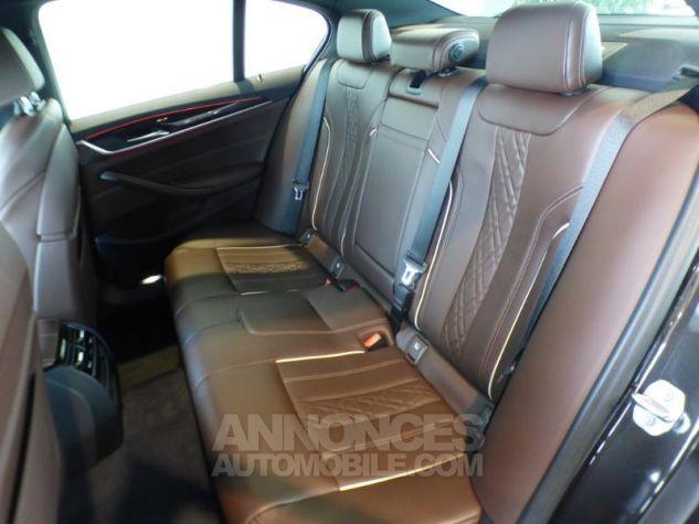 BMW Série 5 530iA 252ch Luxury MARRON Occasion - 9