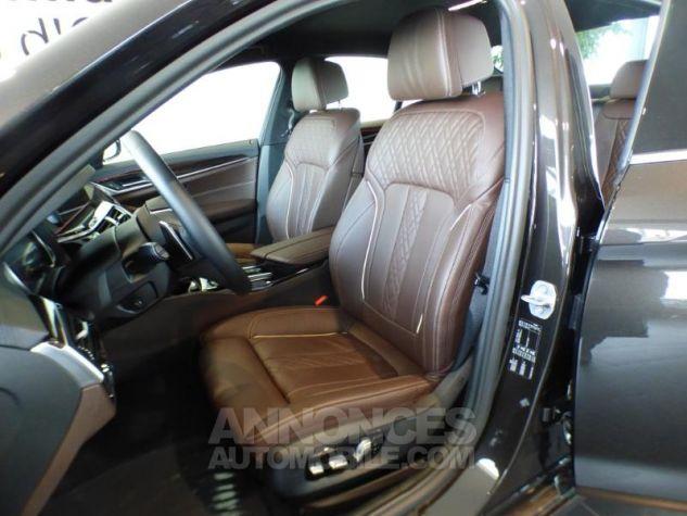BMW Série 5 530iA 252ch Luxury MARRON Occasion - 11