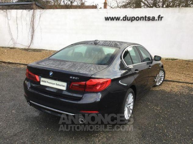 BMW Série 5 530iA 252ch Luxury Euro6d-T Sophistograu  metallise Occasion - 1