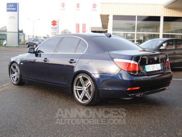 BMW Série 5 DA PACK LUXE 87822KM TOUTES OPTIONS Bleu Foncé Occasion - 2