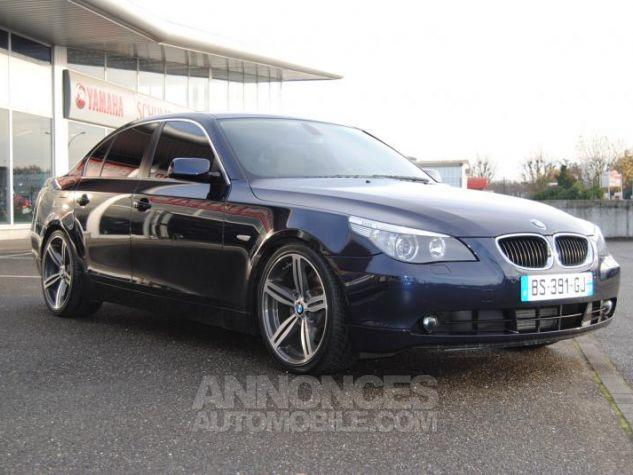 BMW Série 5 DA PACK LUXE 87822KM TOUTES OPTIONS Bleu Foncé Occasion - 3