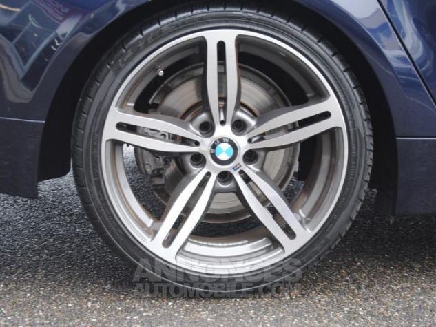 BMW Série 5 DA PACK LUXE 87822KM TOUTES OPTIONS Bleu Foncé Occasion - 4