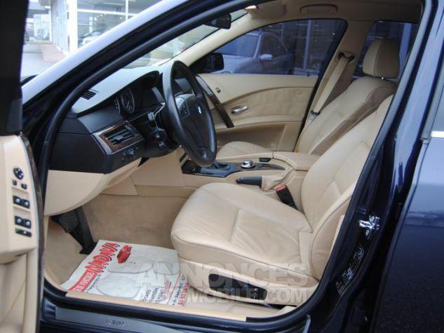 BMW Série 5 DA PACK LUXE 87822KM TOUTES OPTIONS Bleu Foncé Occasion - 5