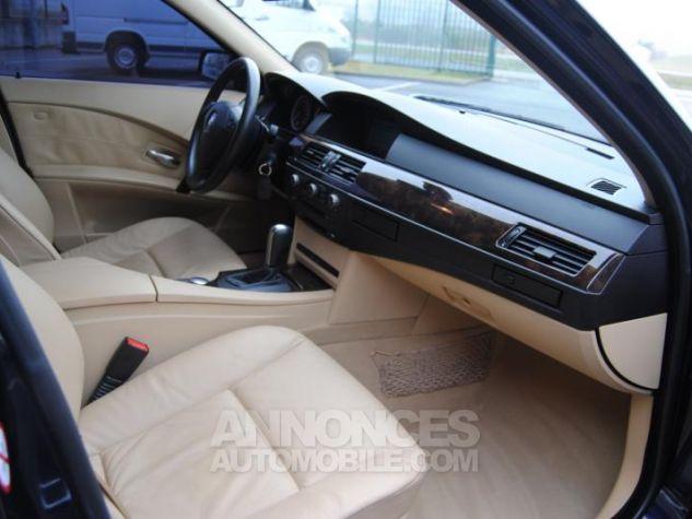 BMW Série 5 DA PACK LUXE 87822KM TOUTES OPTIONS Bleu Foncé Occasion - 6