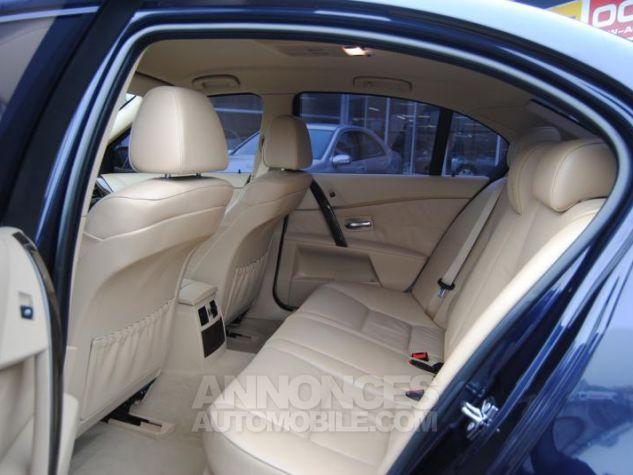 BMW Série 5 DA PACK LUXE 87822KM TOUTES OPTIONS Bleu Foncé Occasion - 7