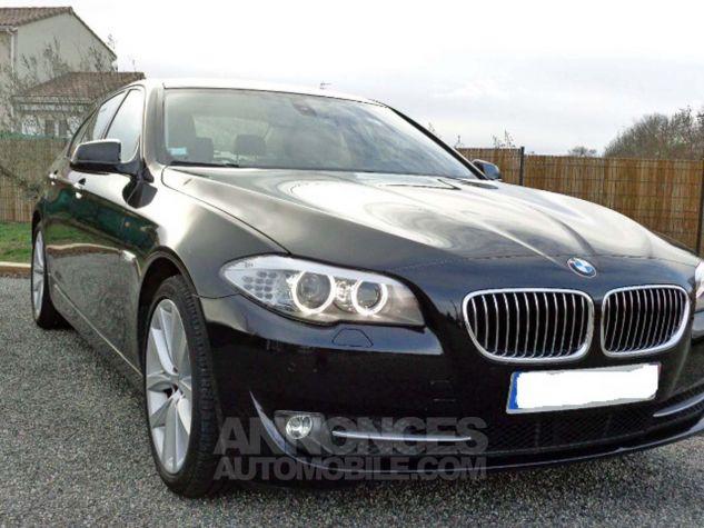 BMW Série 5 F10 530D 258 LUXURY noir verni Occasion - 2