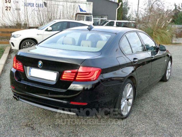 BMW Série 5 F10 530D 258 LUXURY noir verni Occasion - 3