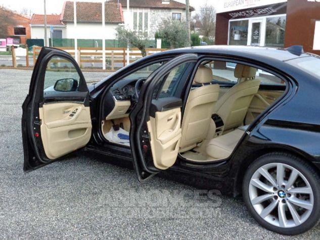 BMW Série 5 F10 530D 258 LUXURY noir verni Occasion - 4