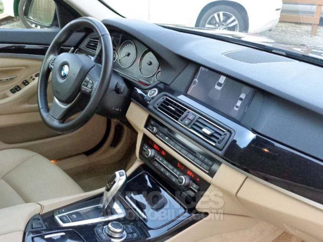 BMW Série 5 F10 530D 258 LUXURY noir verni Occasion - 5