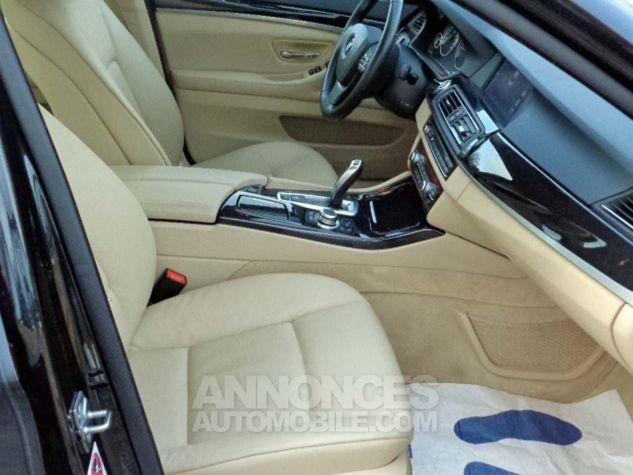 BMW Série 5 F10 530D 258 LUXURY noir verni Occasion - 6