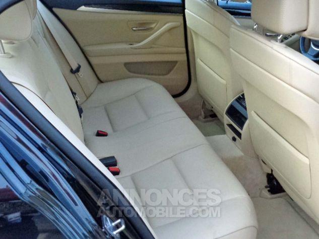 BMW Série 5 F10 530D 258 LUXURY noir verni Occasion - 7