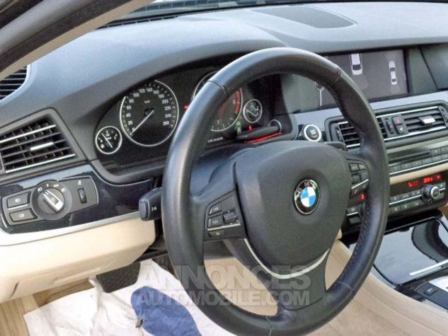 BMW Série 5 F10 530D 258 LUXURY noir verni Occasion - 9