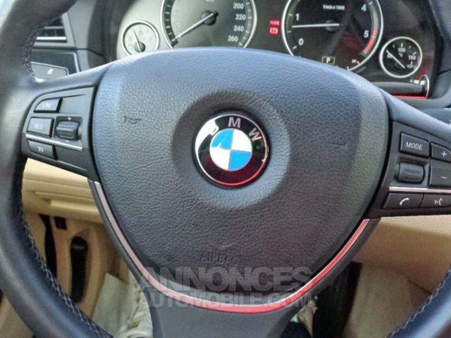 BMW Série 5 F10 530D 258 LUXURY noir verni Occasion - 10