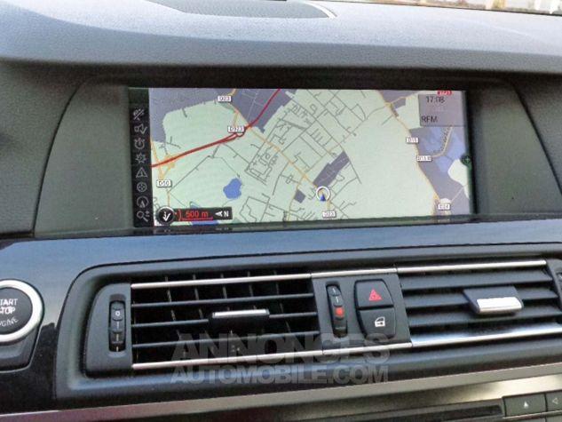 BMW Série 5 F10 530D 258 LUXURY noir verni Occasion - 11