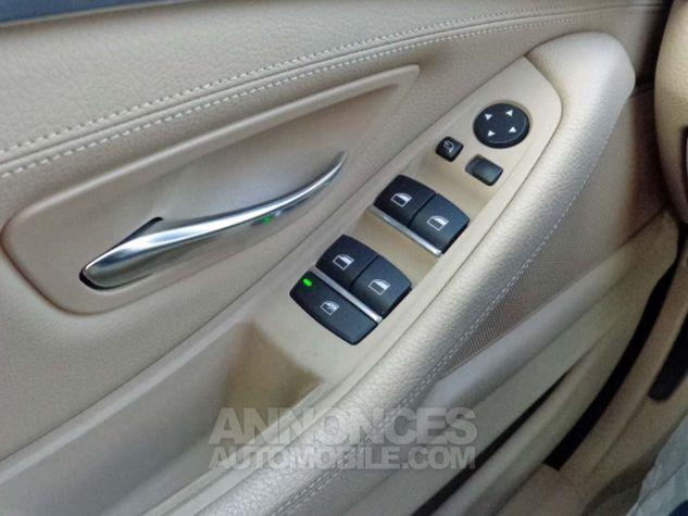 BMW Série 5 F10 530D 258 LUXURY noir verni Occasion - 15